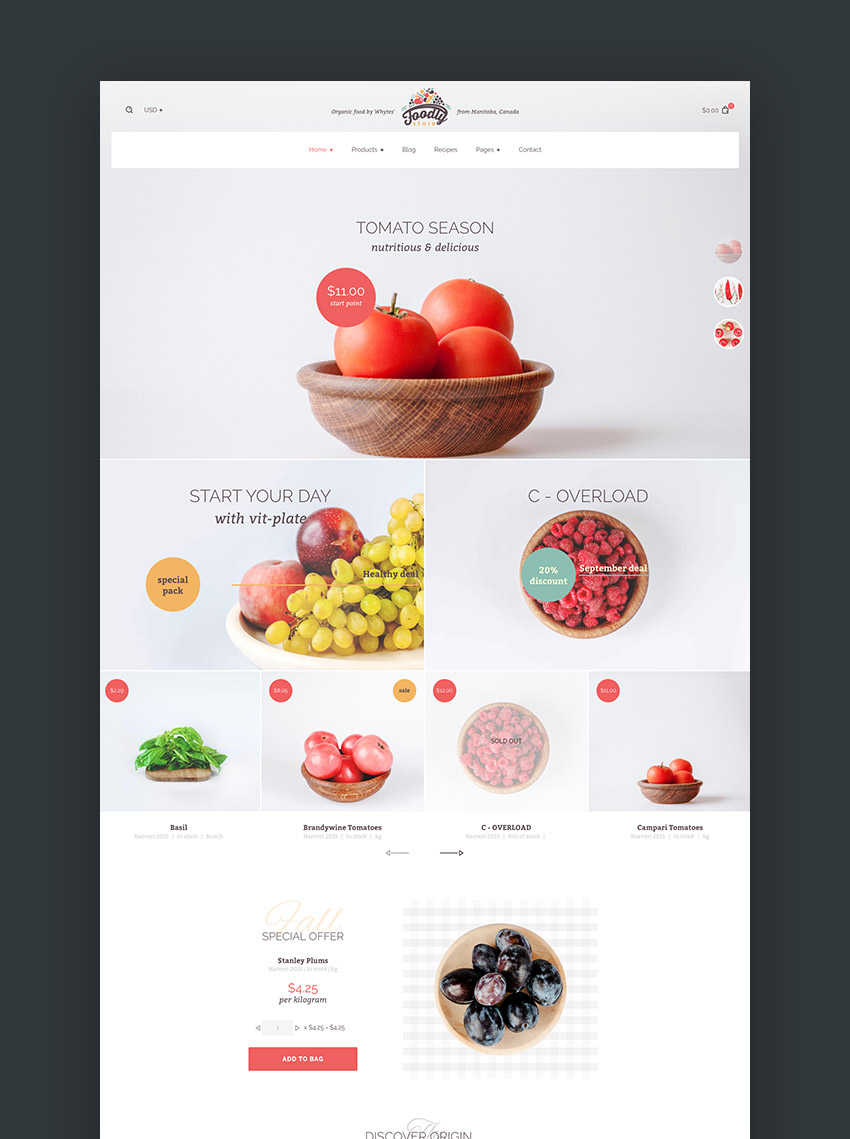 foodly - Shopify主题